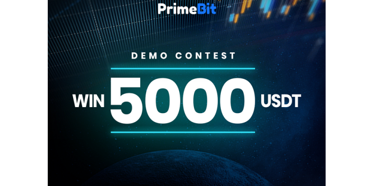 Win 5000 USDT by Trading Demo Funds with PrimeBit! 1