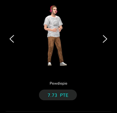 Pewdiepie partners with blockchain-based game. 2
