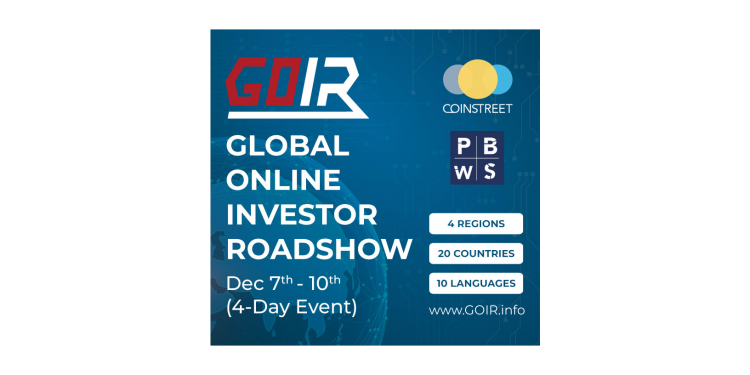 Coinstreet Partners' Collaboration with Magic Circle to Promote GOIR ( Global Online Investor Roadshow ) in China and Japan markets 1