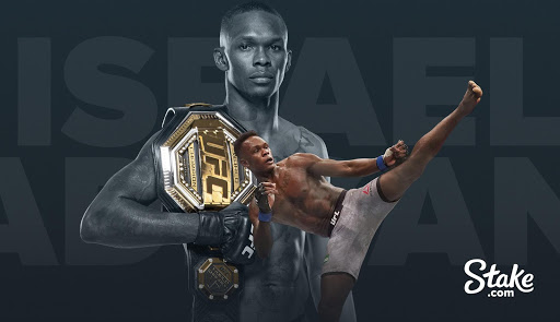 Ufc Champion Israel Adesanya Signs Ambassador Deal With Stake.com 1