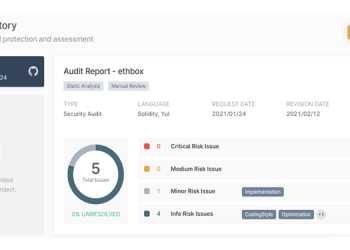 ethbox Smart Contract Code is Fully Audited and As Secure As Possible 6