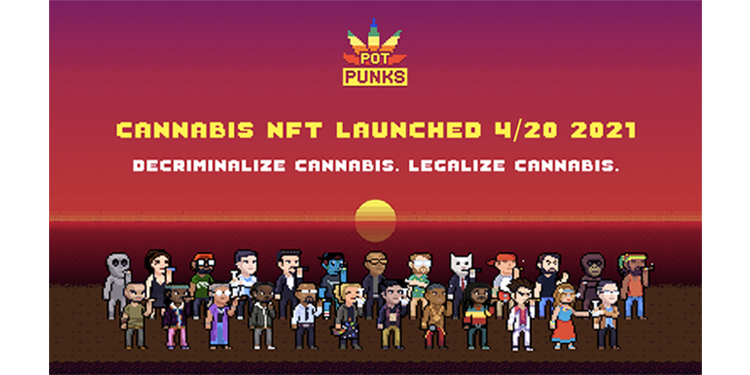PotPunks Shake Up 4/20 and the World of NFTs 1