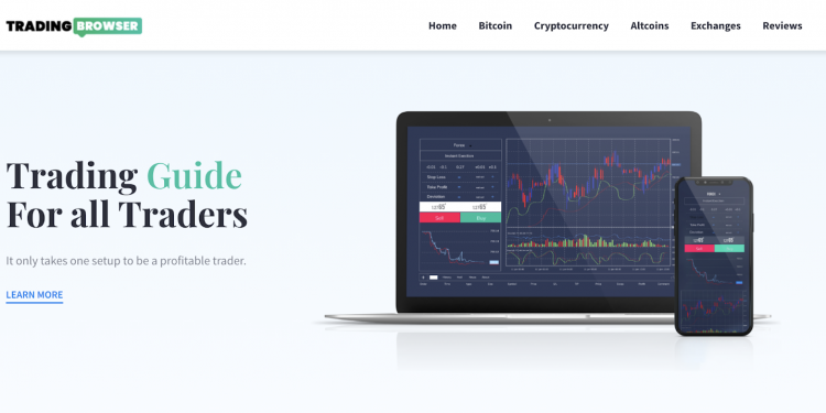 Tradingbrowser trading guide is launching a brand new website 1