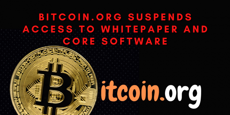 Bitcoin whitepaper and the core software