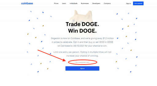 Angry Dogecoin enthusiast drags Coinbase to court for 'False and Misleading' sweepstake