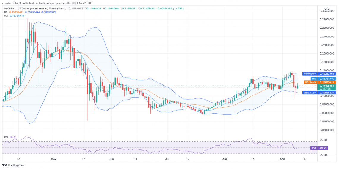 VeChain price analysis: Bullish movement provides collateral support for growth above $0.12 1