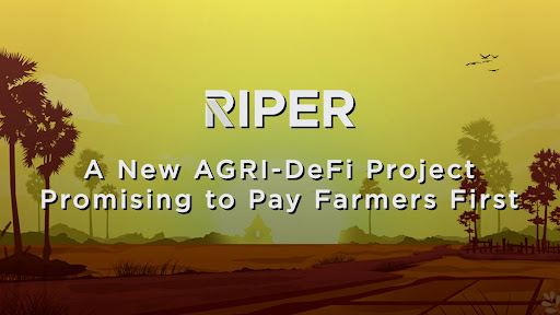 RiperDeFi -- A New AGRI-DeFi Project Promising to Pay Farmers First 1