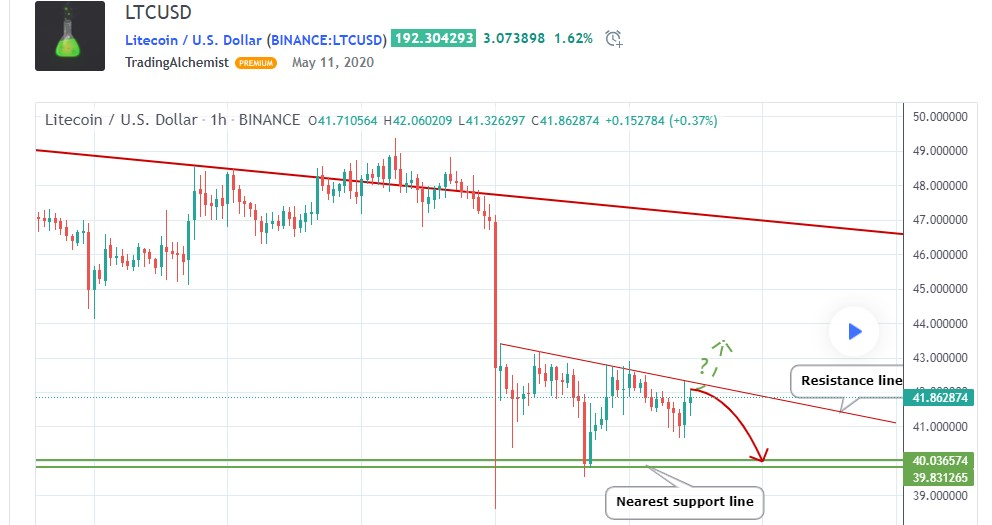 Litecoin LTC price likely to see further losses ahead of the halving, say analysts 1