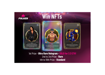 Massive NFT and Token Giveaway From Polker as Staking is Announced! 5