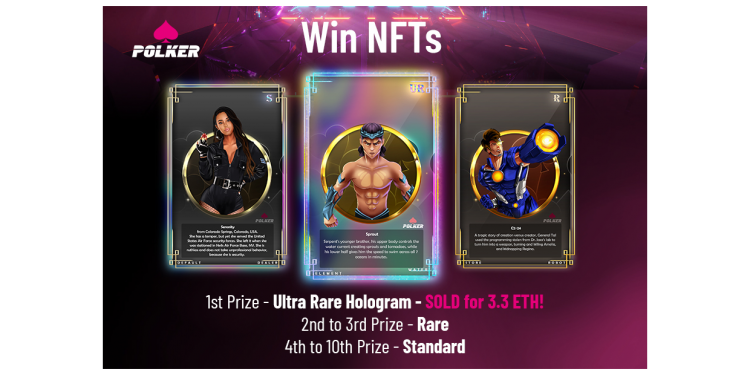 Massive NFT and Token Giveaway From Polker as Staking is Announced! 1