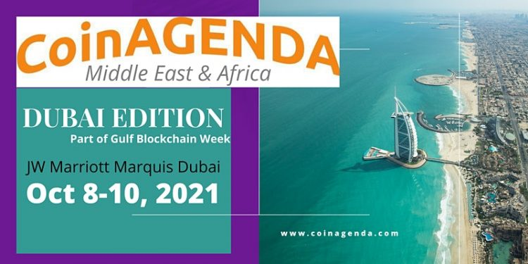 CoinAgenda Middle East & Africa Bring Top Thought Leaders in Blockchain to Dubai Oct 8-10 1